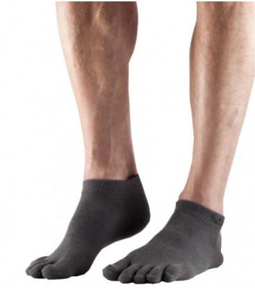 Toesox Sport Ultra Lite Ankle grijs