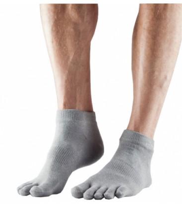 Toesox Sport Lightweight Ankle Licht grijs