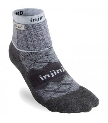 Injinji Liner + Runner Grijs teensokken