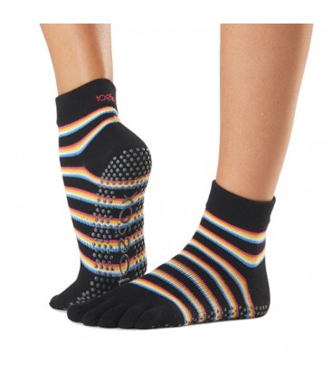 Toesox Ankle Grip Socks Mystique teensokken