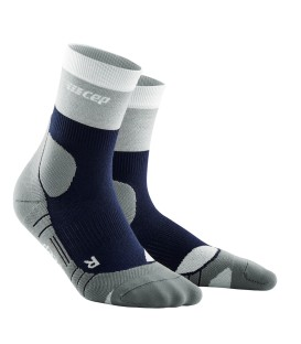 CEP Hiking Light Merino Navyblauw/Grijs