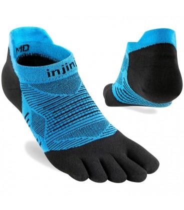 Injinji Run Lightweight No-Show Coolmax Blauw